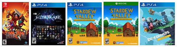 new games-has-been-heroes-stardew-valley-deformers-silver-case